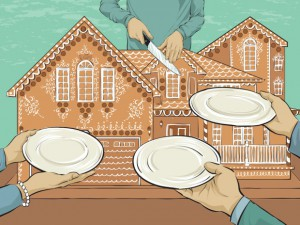 "OCT 9, 2012 - FP illustration ""Estate Planning Cover."" Illustration by Chloe Cushman."